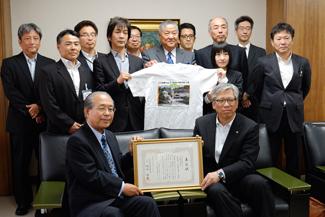 日本風景街道九州ルート平成26年度年間優秀活動賞受賞